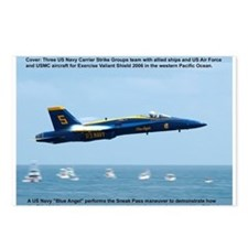 Blue Angels - Sneak Pass Postcards (Package of 8)