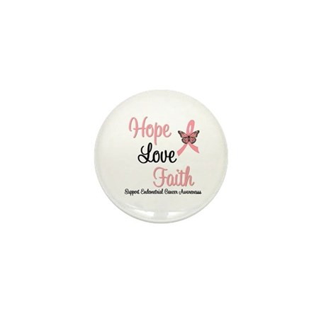 Endometrial Survivor Mini Button