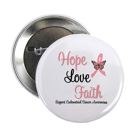 "Endometrial Survivor 2.25"" Button"
