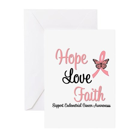 Endometrial Survivor Greeting Cards (Pk of 10)
