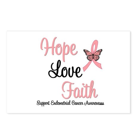 Endometrial Survivor Postcards (Package of 8)