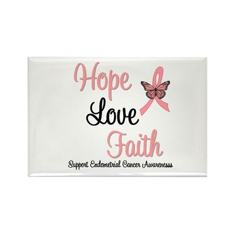 Endometrial Survivor Rectangle Magnet
