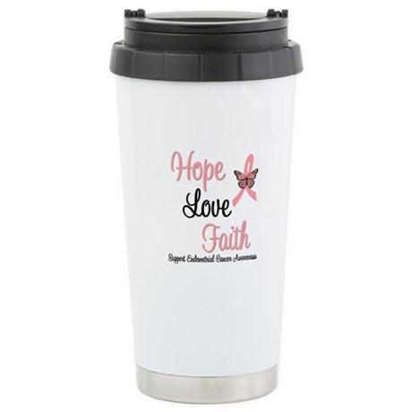 Endometrial Survivor Ceramic Travel Mug