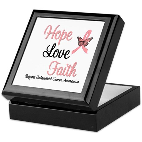 Endometrial Survivor Keepsake Box