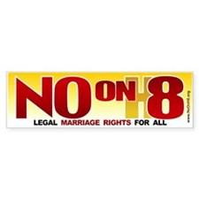 No on H8 - Bumper Sticker (10 pk)