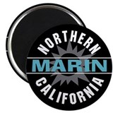 "Marin California 2.25"" Magnet (100 pack)"