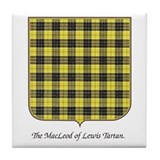 MacLeod of Lewis Tartan Tile coaster