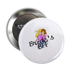 "Bride's BFF 2.25"" Button"