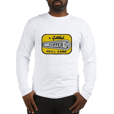 Gottlieb&reg; &quot;Flipper&quot; Logo Long Sleeve T-Shirt