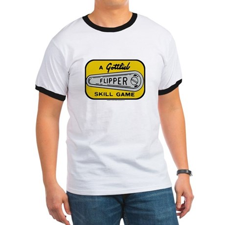 Gottlieb&reg; &quot;Flipper&quot; Logo Ringer T