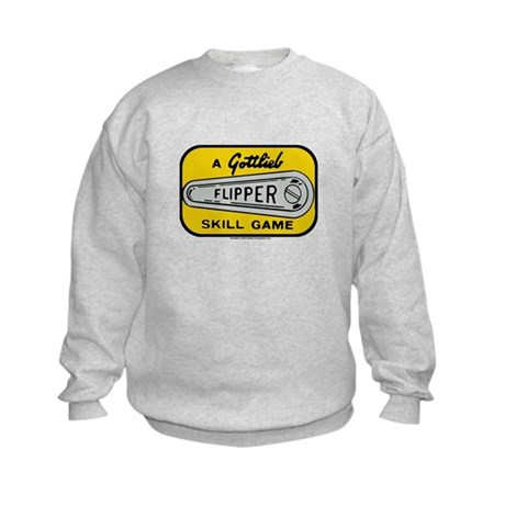 Gottlieb&reg; &quot;Flipper&quot; Logo Kids Sweatshirt