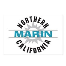Marin California Postcards (Package of 8)