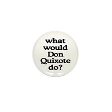Don Quixote Mini Button (100 pack)
