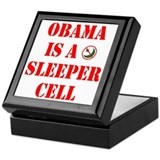 Obama is a Sleeper Cell Keepsake Box