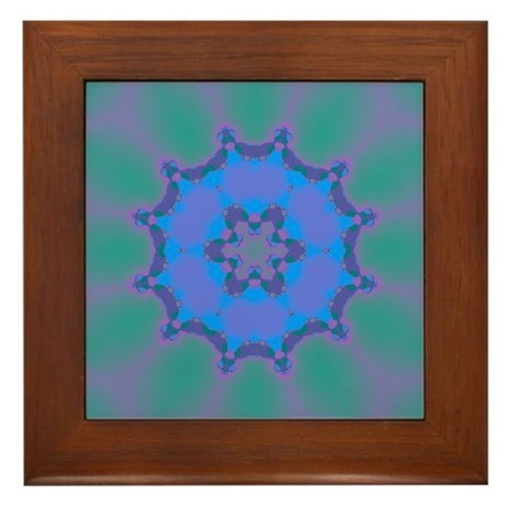 Celestial Whispers VII Framed Tile
