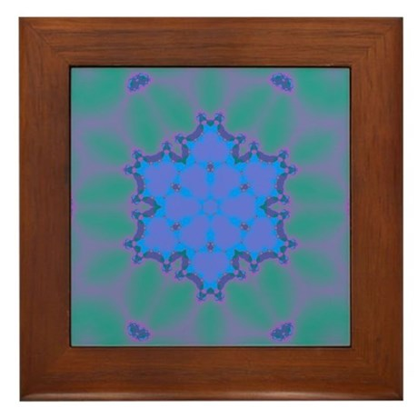 Celestial Whispers V Framed Tile