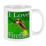 I Love Fireflies Coffee Mug