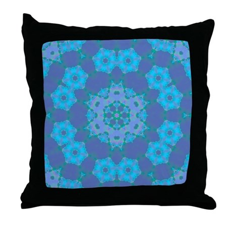 Abyssal Visions IV Throw Pillow