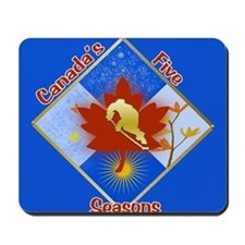 Canada's 5 Seasons Mousepad