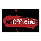 ArtOfficial Logo sticker