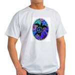 Peace Turtles Ash Grey T-Shirt