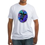 Peace Turtles Fitted T-Shirt