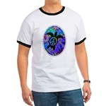 Peace Turtles Ringer T