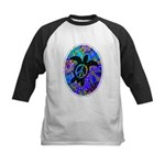 Peace Turtles Kids Baseball Jersey
