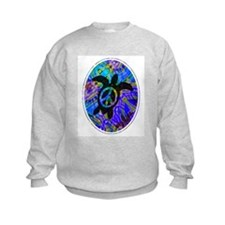 Peace Turtles Kids Sweatshirt