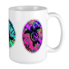 Peace Turtles Large Mug