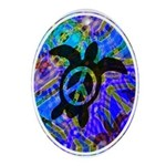 Peace Turtles Keepsake (Oval)