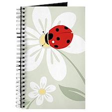 Ladybug on Flower Journal