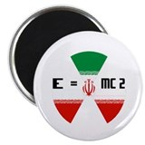 "IRAN E=MC2 2.25"" Magnet (100 pack)"