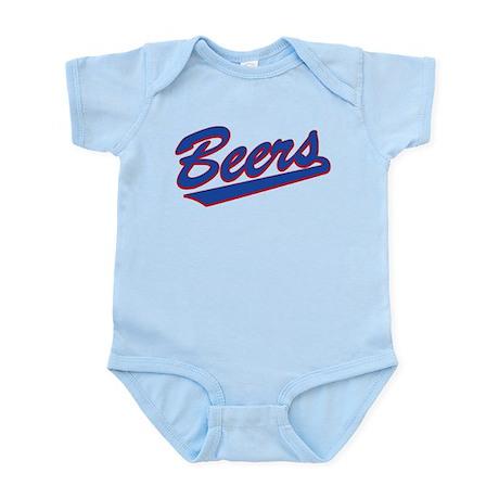 beers baseketball Infant Bodysuit