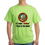 Change Green T-Shirt