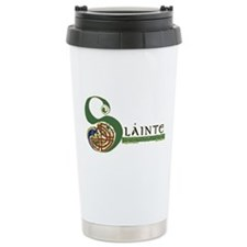 Slainte Irish Knotwork Design Travel Mugsign