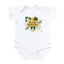 Palm Tree Sierra Leone Infant Bodysuit