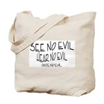 Date No Evil Tote Bag