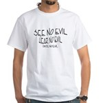 Date No Evil White T-Shirt
