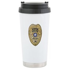 Food Police Ceramic Travel Mug