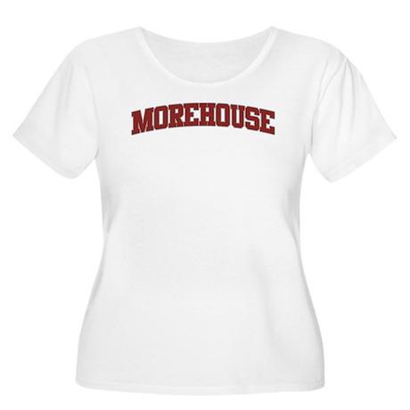 MOREHOUSE Design Women's Plus Size Scoop Neck T-Sh