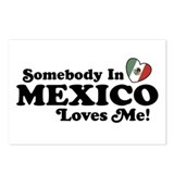 Somebody in Mexico Loves Me Postcards (Package of
