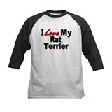 I Love My Rat Terrier Tee