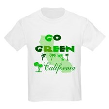 Go Green California T-Shirt