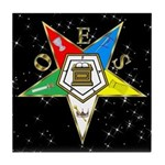 OES Star in the Sky Tile Coaster