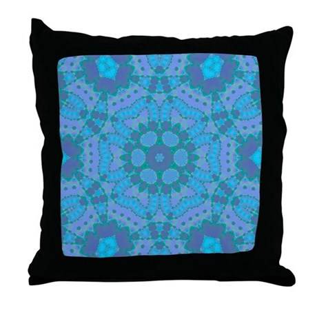 Abyssal Visions IX Throw Pillow