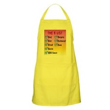 The B list BBQ Apron