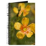 Yellow Texas Wildflower Journal