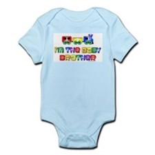 Baby Bro Choo Choo Train Infant Bodysuit