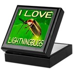 I Love Lightningbugs Keepsake Box